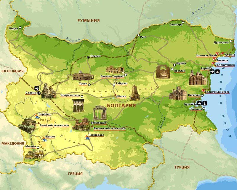 Карта Кипр Пафос